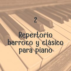 Repertorio esencial para aprender a tocar el piano (2)