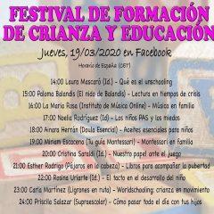 Festival de Formación de Crianza y Educación